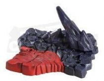 MOTU Classics - 5 socles diorama Snake Mountain