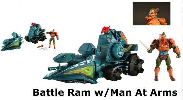 MOTU Classics - Battle Ram & Man-At-Arms