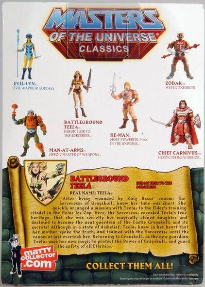 MOTU Classics - Battleground Teela