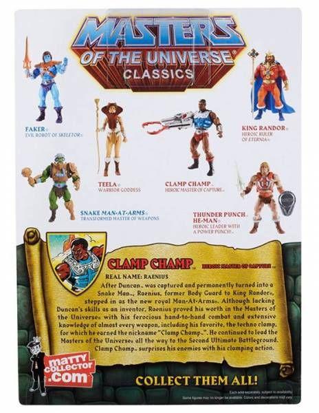 MOTU Classics - Clamp Champ