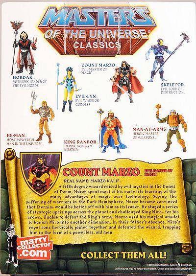 MOTU Classics - Count Marzo