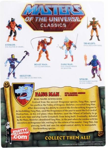 MOTU Classics - Fang Man