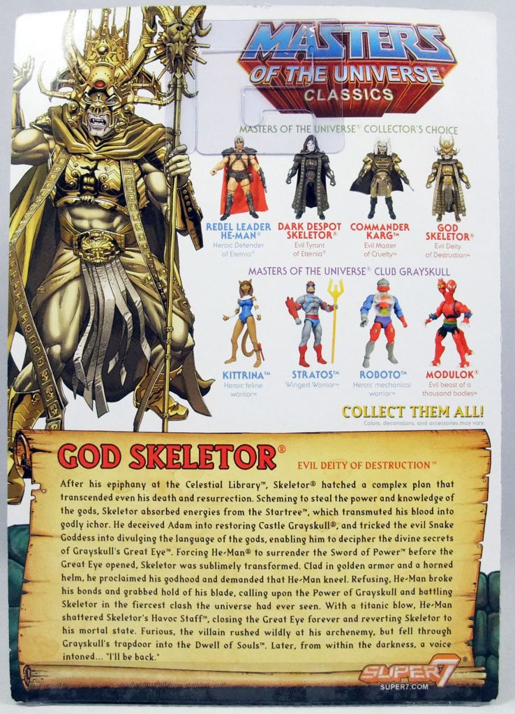 MOTU Classics - God Skeletor (1987 Movie - William Stout Collection)