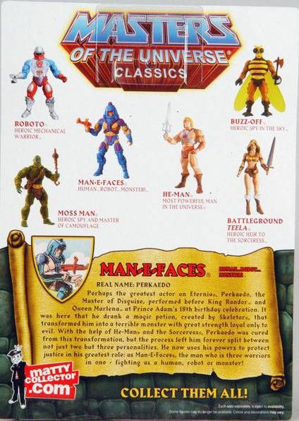 MOTU Classics - Man-E-Faces