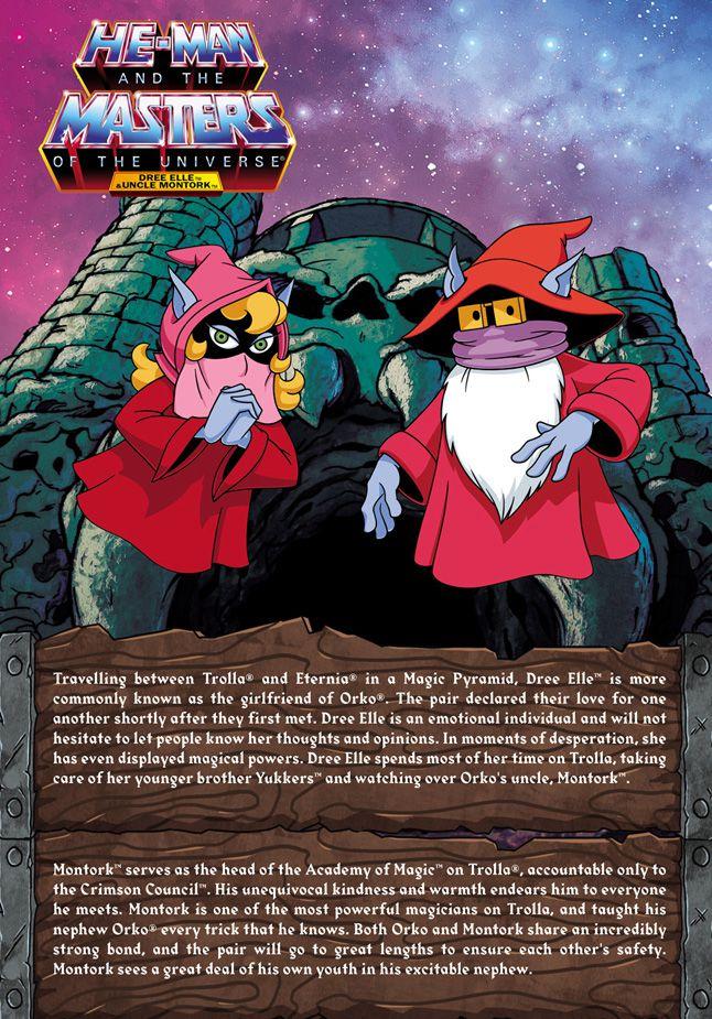 MOTU Classics - Montork & Dree Elle (Filmation) (Power-Con Exclusive)