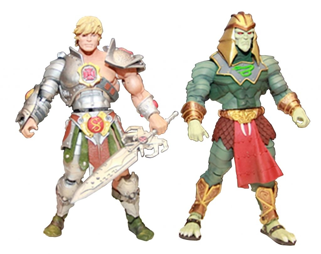 MOTUC SA He-Man vs King Hsss 02