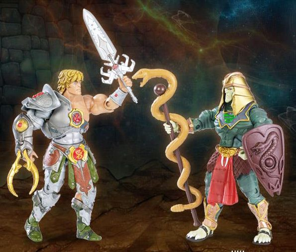 MOTU Classics - Snake Armor He-Man & Battle Armor King Hssss 1