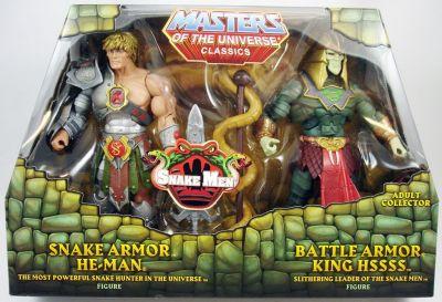Mattel Masters of the Universe Classics MOTUC Snake Armor He-Man vs King Hssss