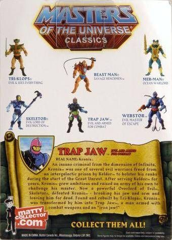 "MOTU Classics - Trap Jaw (\""The Original\"")"