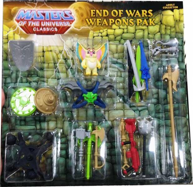 MOTU Classics - Weapons Pak \'\'End of Wars\'\' avec Kowl