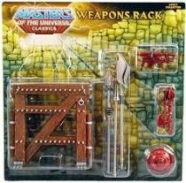 MOTU Classics - Weapons Rack