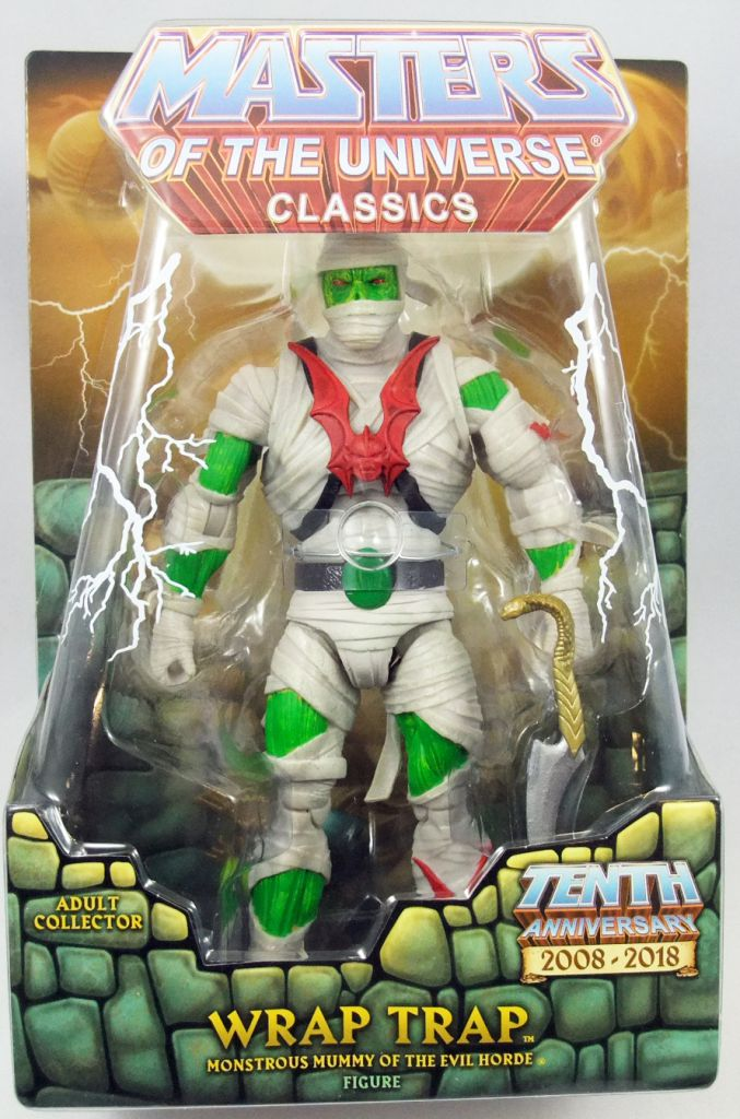 MOTU Masters Of The Universe Classics Wrap Trap Super 7 New MOTUC