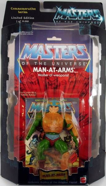 MotU Man-at-Arms Masters of the Universe Authentic Replica Mattel