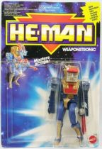 MOTU New Adventures of He-Man - Artilla  Weaponstronic carte Europe