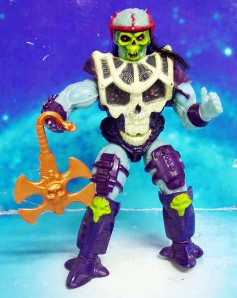 MOTU New Adventures of He-Man - Battle Blade Skeletor / Skeletor Lame d\'Enfer (loose)