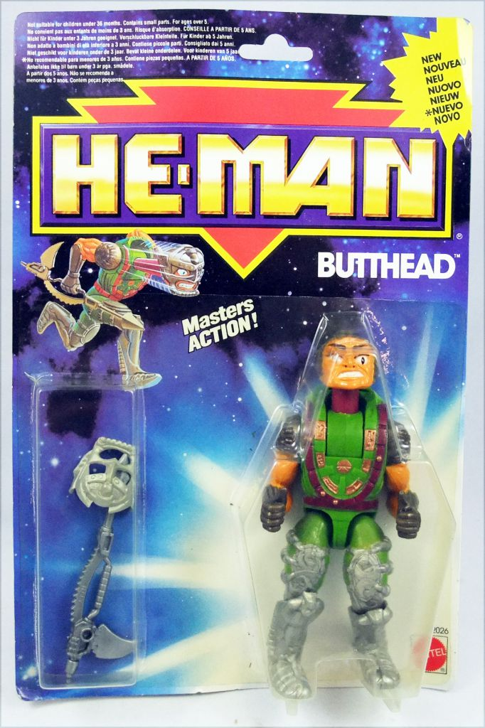 MOTU New Adventures of He-Man - Butthead (Europe card)