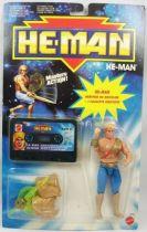 MOTU New Adventures of He-Man - He-Man + cassette audio carte Europe
