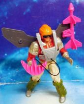 MOTU New Adventures of He-Man - Missile Armor Flipshot / Icarius Tireur d\'Elite (loose)