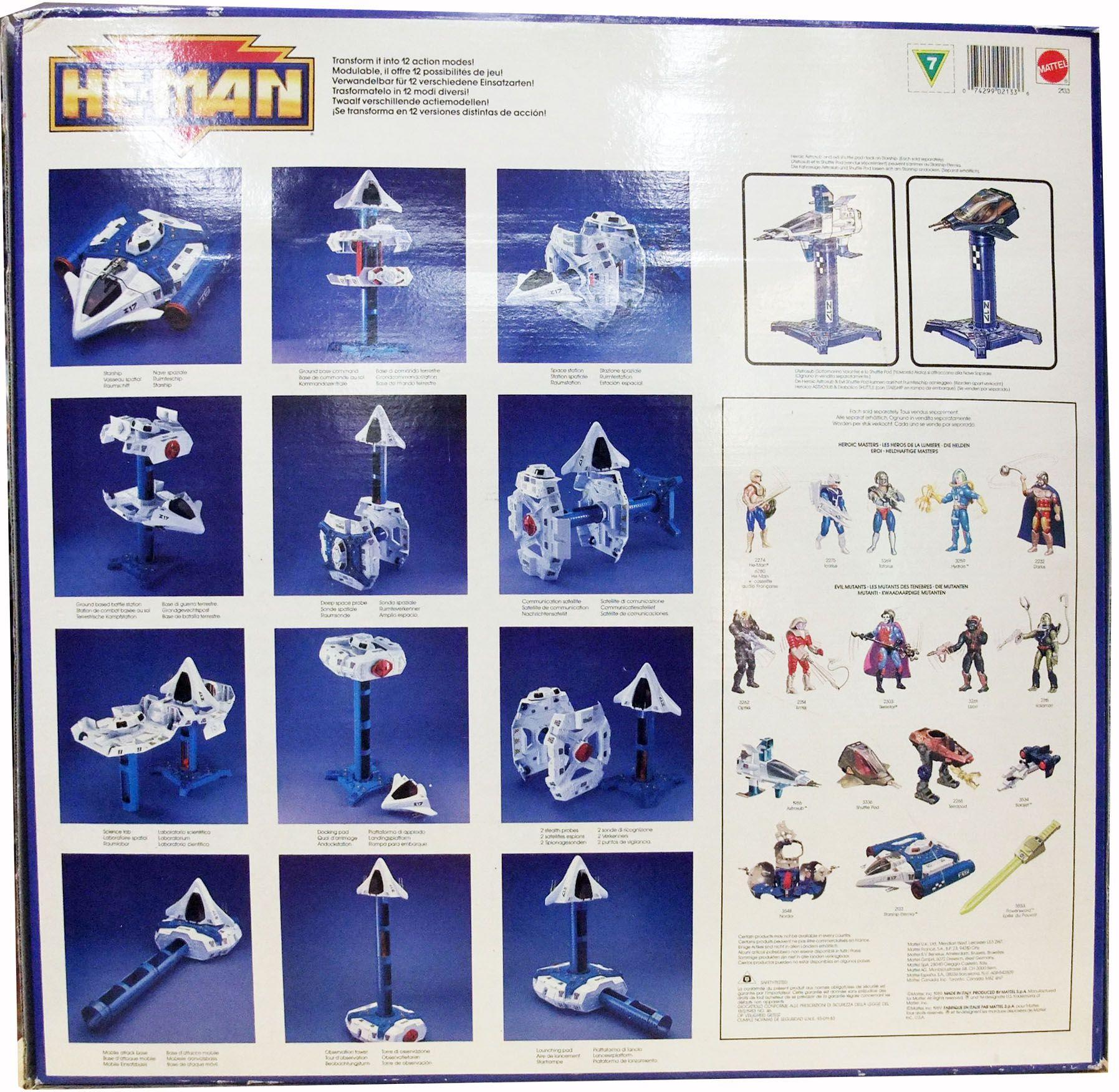 MOTU New Adventures of He-Man - Starship Eternia (Europe box)