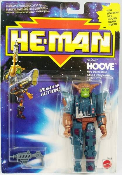 MOTU New Adventures of He-Man - Too Tall Hoove (Europe card)