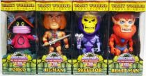 MOTU Wacky Wobbler Funko - Set de 4 figurines Bobble-Head : He-Man, Skeletor, Beast-Man, Orko