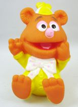 """Muppet Babies - HAI - 4\"""" squeeze toy Baby Fozzie Bear"""