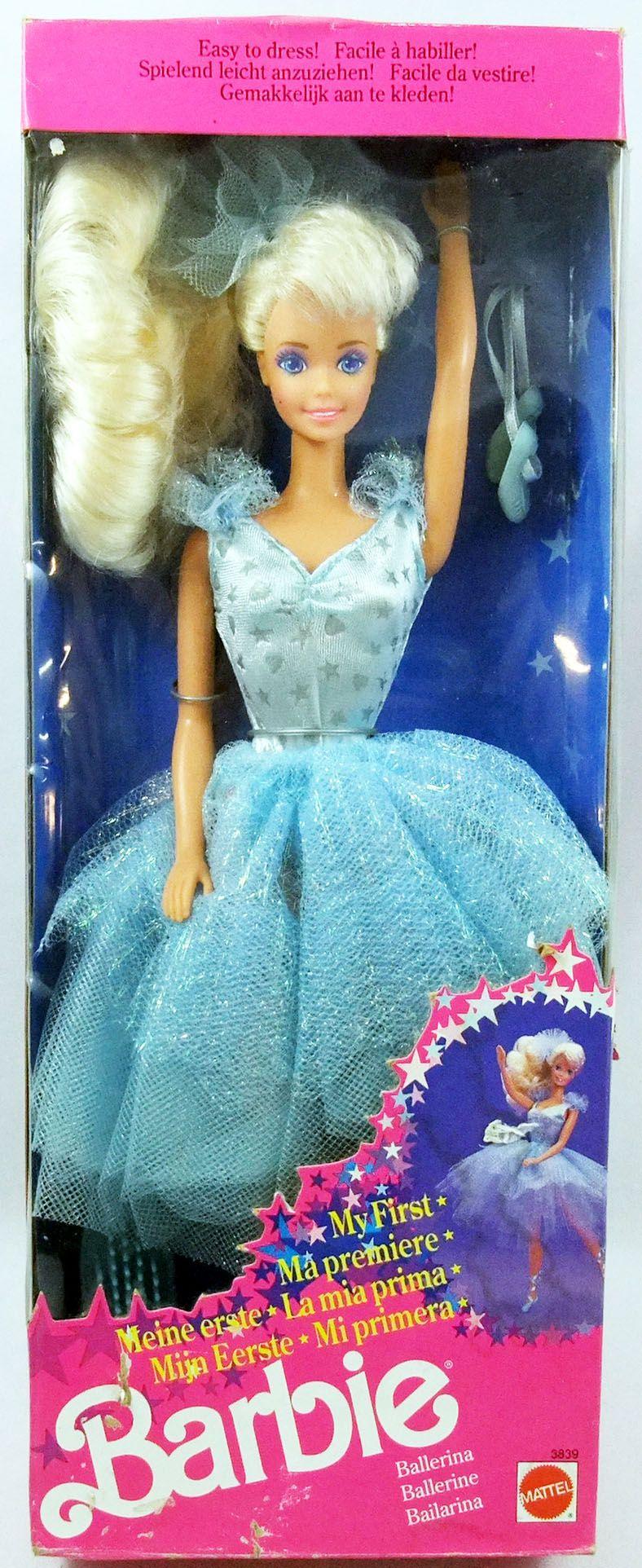 My First Ballerina Barbie Mattel 1991 Ref 3839
