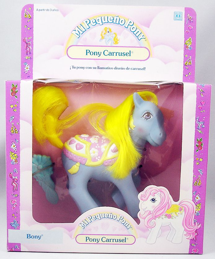 My Little Pony - 1989 Merry-Go-Round Ponies - Brilliant Blossoms