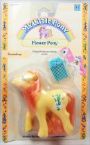 My Little Pony - 1990 Flower Ponies - Snowdrop