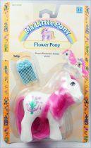 My Little Pony - 1990 Flower Ponies - Tulip