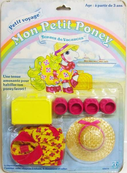 My Little Pony - Hasbro France - Play\'n Wear - Pony Holiday