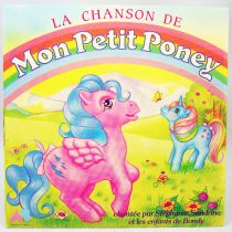 My Little Pony - Mini Record 45rpm - My Little Pony\'s song - AB Productions 1986