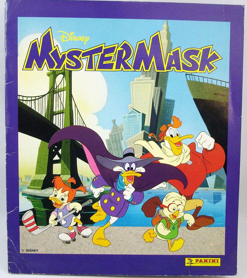 Myster Mask - Album de vignettes Panini 1992