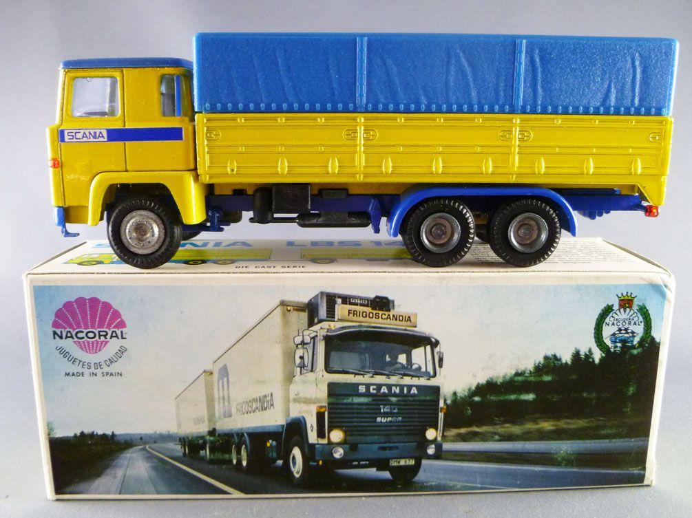 PEG23D CAMIONS PEGASO Salvat 1//43 1986 camion bâché Ekus 1210 avion Iberia
