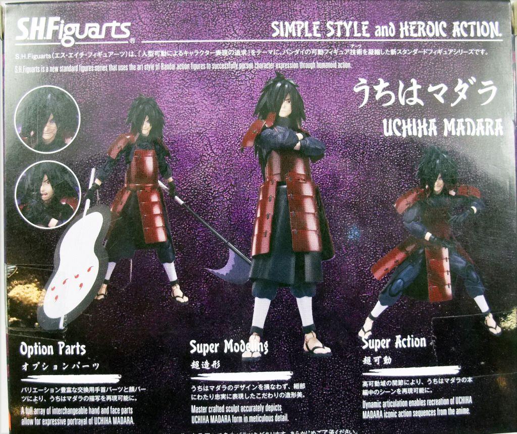 Naruto Shippuden - Bandai S.H.Figuarts - Madara Uchiha