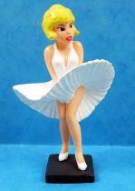 Natacha Fligh Attendant - PVC Figure Bully - Natacha in Marilyn Monroe dress