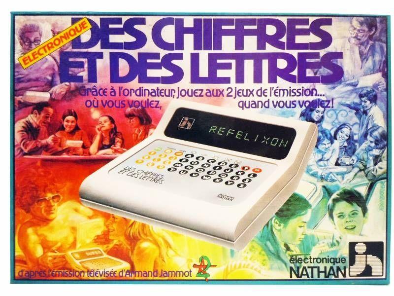 Nathan - Des Chiffres et des Lettres Electronique (Countdown) mint in box