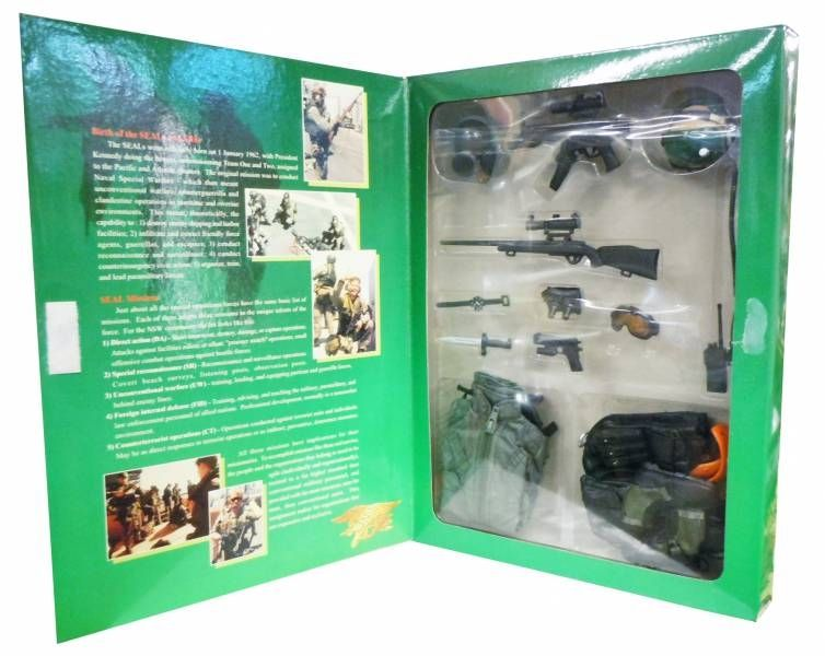 Navy Seals - OPS : Seal Assault Team Commander - Hot Toys