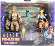 NECA - Alien vs Predator Arcade Game - Dutch & Linn