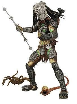NECA - Alien vs Predator Requiem - Masked Battle Damaged Predator