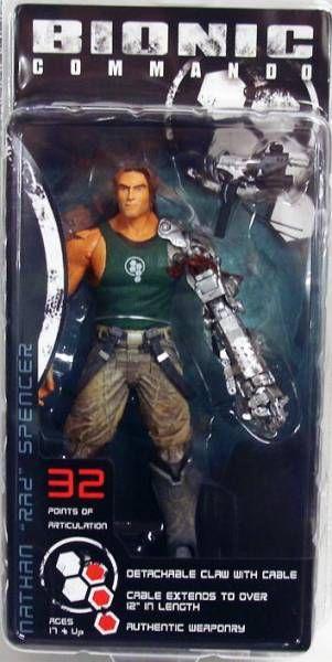 NECA - Bionic Commando - Nathan \\\'\\\'Rad\\\'\\\' Spencer