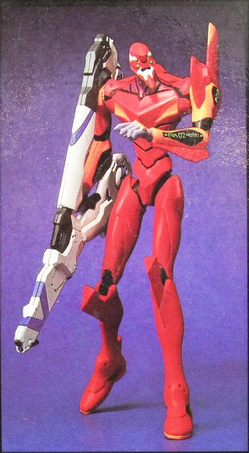 Neon Genesis Evangelion - Real Model Serie 03 : EVA-02 Prototype - Sega