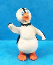 Nestor le pingouin - Figurine Brabo - Nestor bras levé