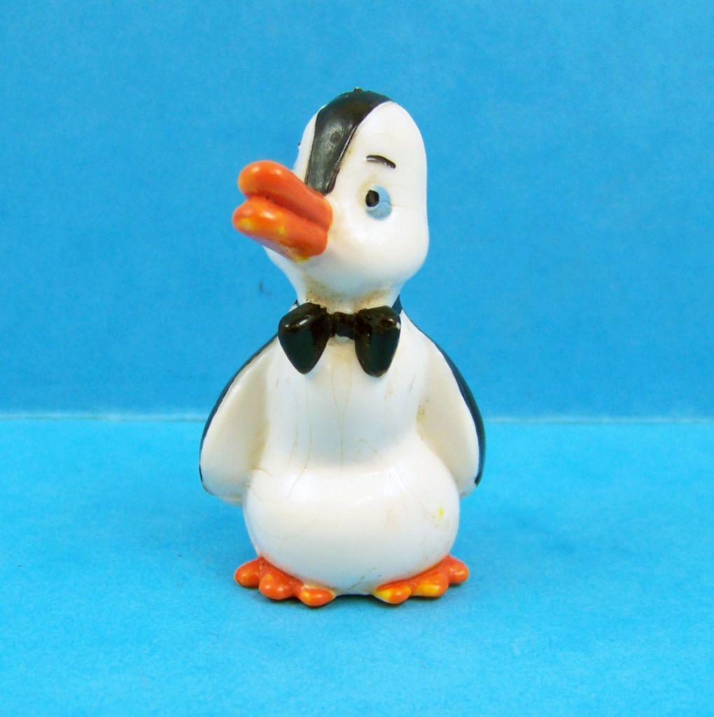 Nestor le pingouin - figurine PVC - Nestor bras au corps
