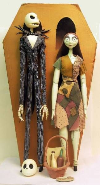 Nightmare before Christmas - Jun Planning - Jack & Sally 14 inch limited 6000 pcs