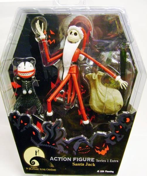 Nightmare before Christmas - Jun Planning - Santa Jack (series 1)