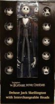 Nightmare before Christmas - NECA - Deluxe Jack Skellington with Interchangeable heads