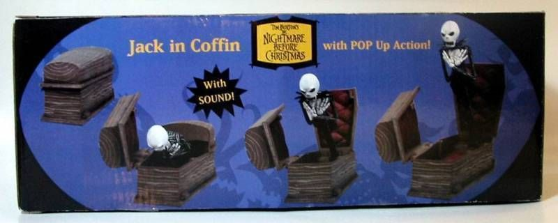 Nightmare before Christmas - NECA - Jack coffin pop up action