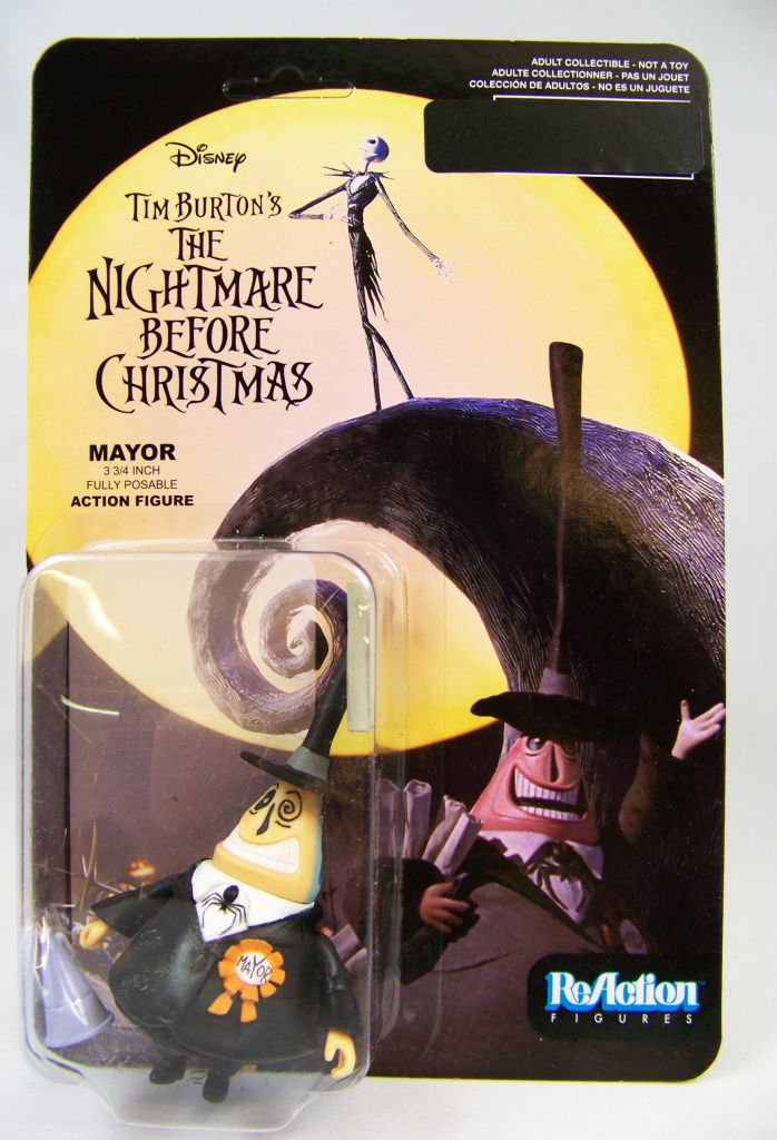 Nightmare Before Christmas Reaction Figure Mayor To a guy in kentucky i'm mr. nightmare before christmas reaction