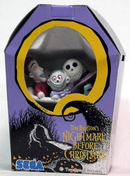 Nightmare before Christmas - Sega - Lock Shock Barrel Mini Cold cast